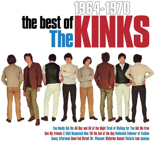 Best Of The Kinks 1964-1970 (Vinyl)