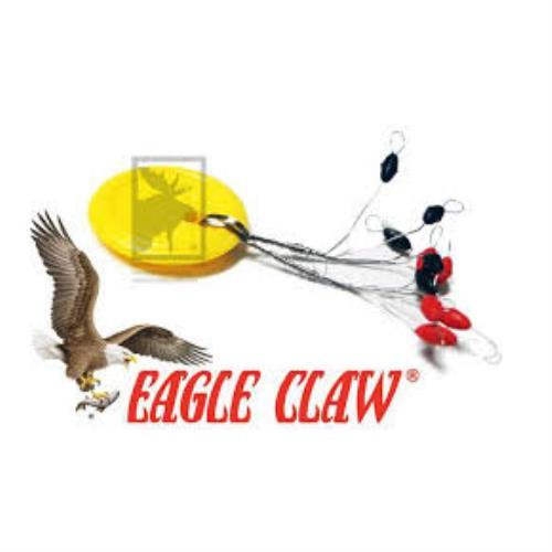 Eagle Claw Bobber Stops-Rubber 4-8LB 07090-004 by Eagle Claw Fishing Tackle