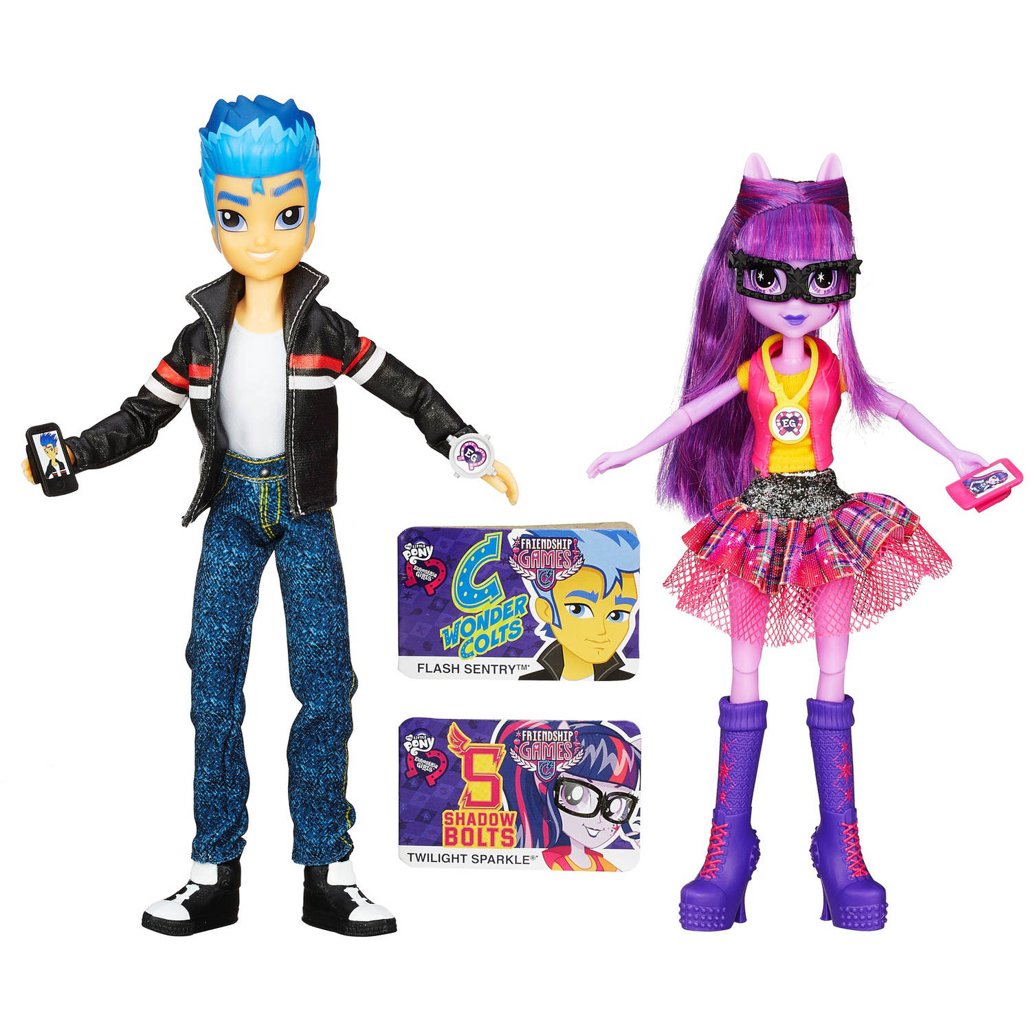 My Little Pony Equestria Girls Flash Sentry and Twilight Sparkle 2-Pack