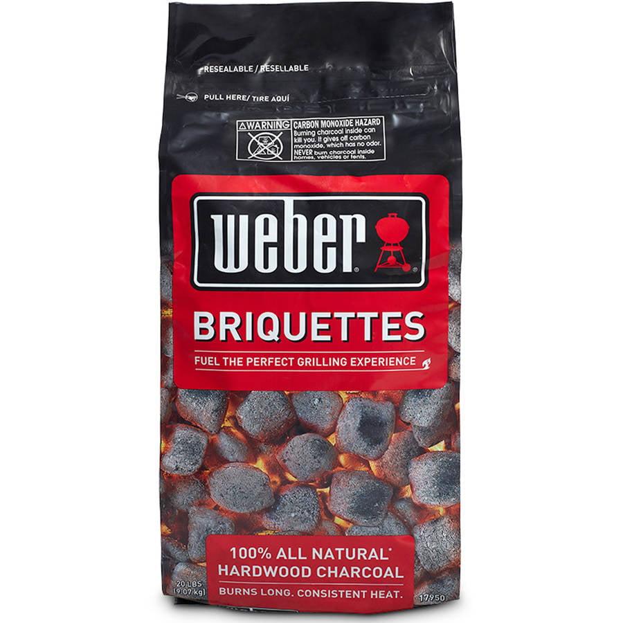 Weber Charcoal Briquettes 20 Pound Bag Walmart