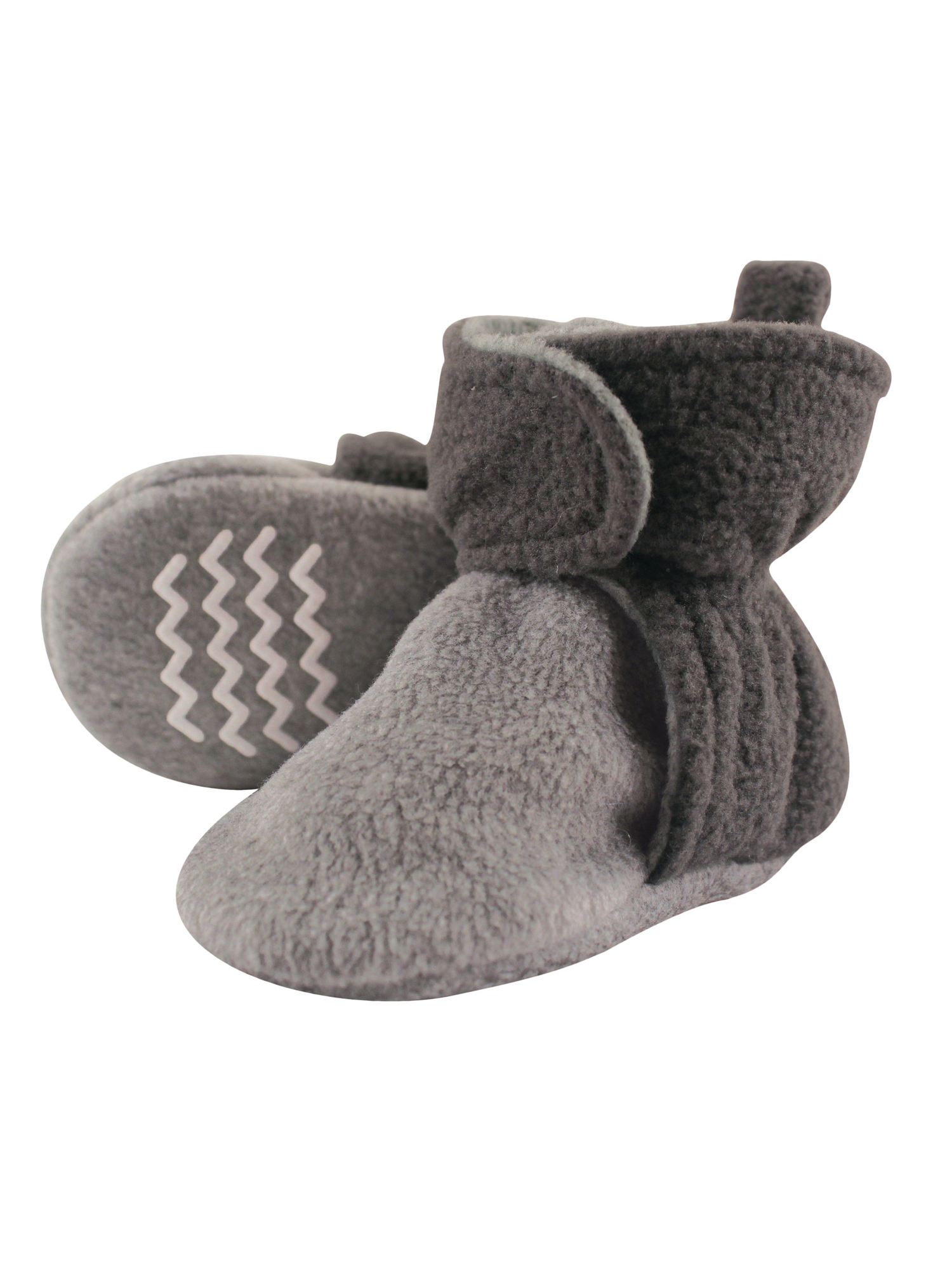 Hudson Baby Unisex Cozy Fleece and Sherpa Booties