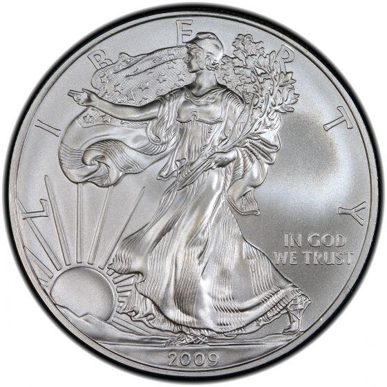 2009 American Silver Eagle 1 oz Silver Coin