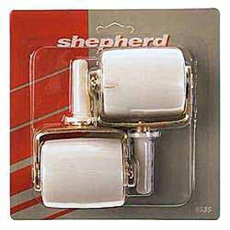 """Shepherd 9535 2-1/8"""" Wide Wheel Bed Casters 2 Count"""