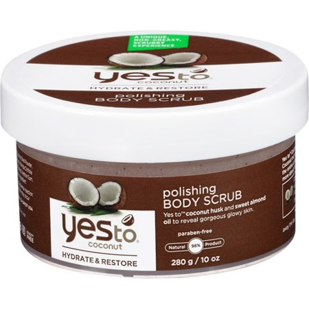 Yes To Coconut Polishing Body Scrub, 10 Oz