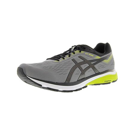 Asics 1011A042-021: Mens GT-1000 7 Carbon/Black Running Sneakers (Mens 7 Running Shoes)