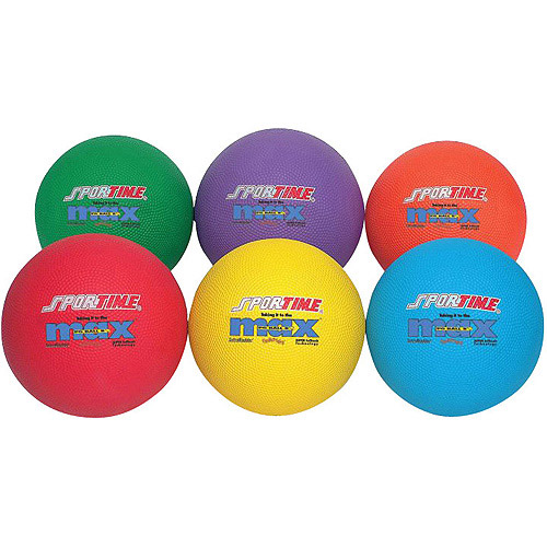 SportimeMax Playground Balls, Yellow, Available in Multiple Sizes