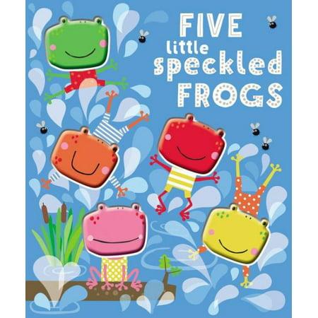 Five Little Speckled Frogs (Board Book)](Little Frogs)