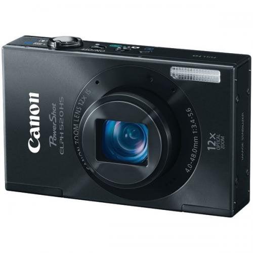 CANON 6169B001 10.1 Megapixel Powershot Elph 520 Hs Digital Camera Black