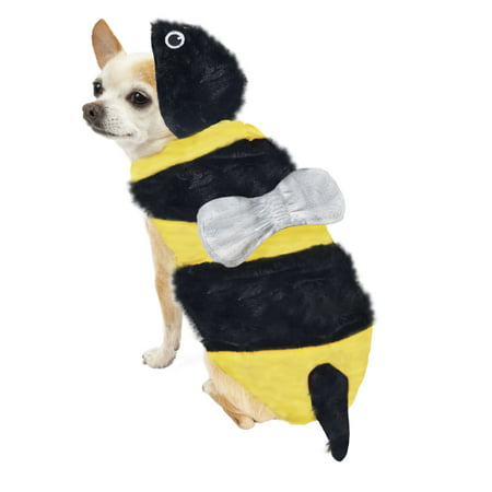 Way To Celebrate Halloween Bee Costume for Dogs, Extra Small