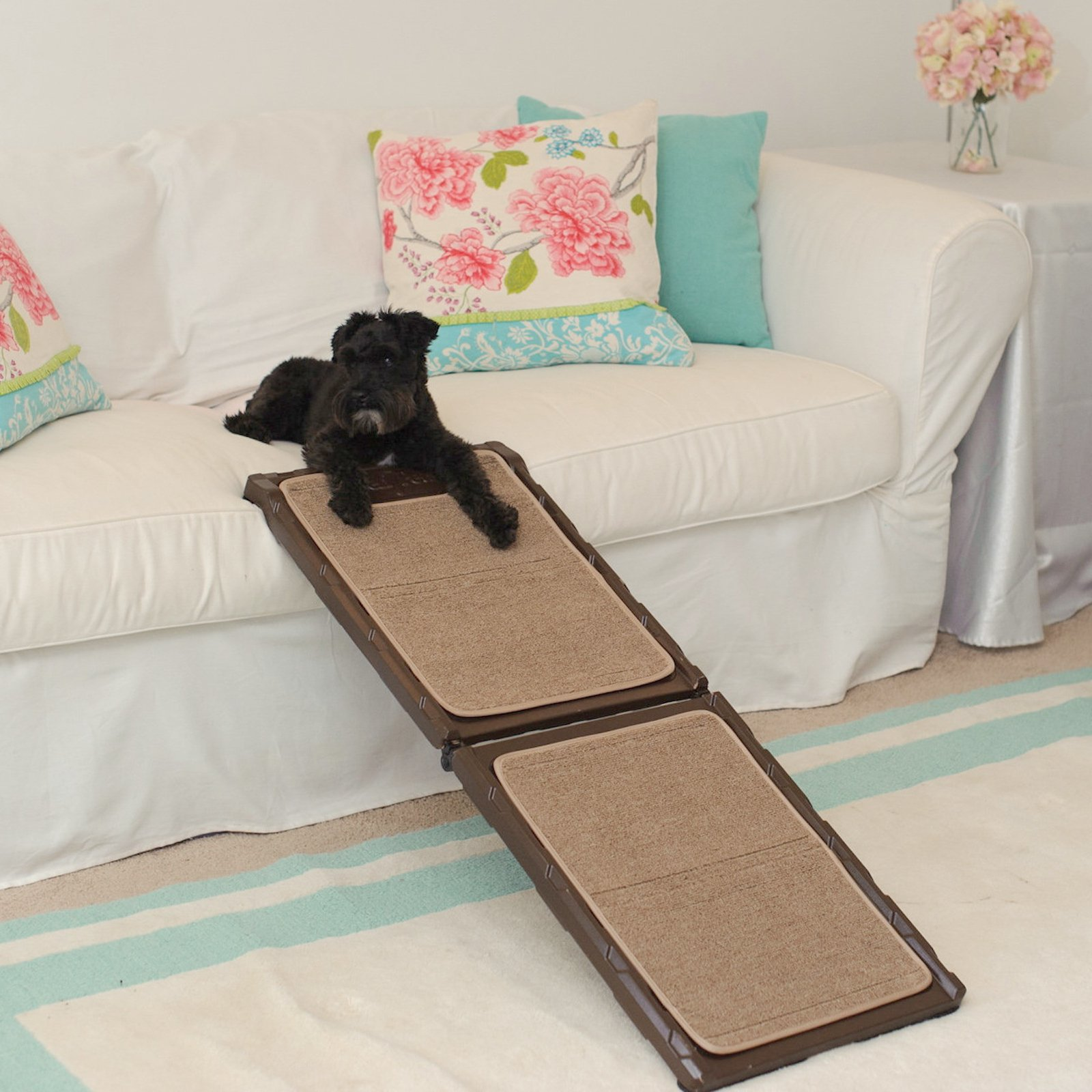 Gen7Pets Indoor Carpet Mini Pet Ramp, 42""