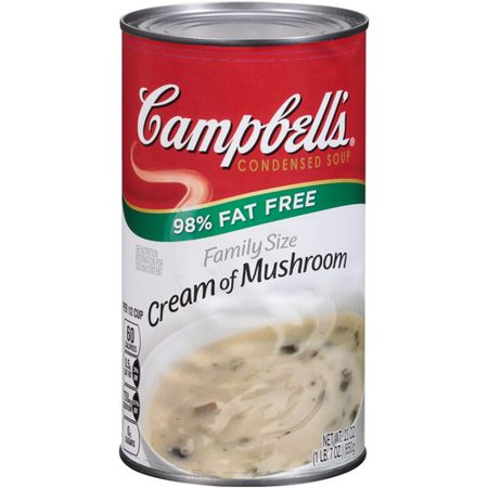 Campbell 39 S Condensed Soup 98 Fat Free Family Size Cream