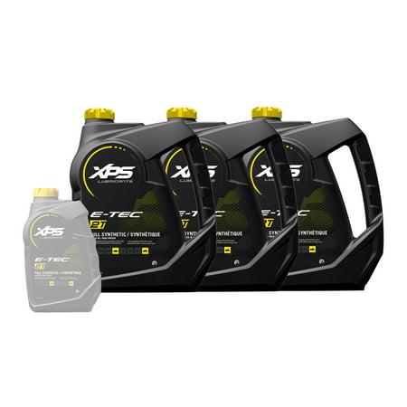 Ski-Doo Can-Am Sea-Doo XPS New OEM 2-Stroke Synthetic Oil Gallon Case,