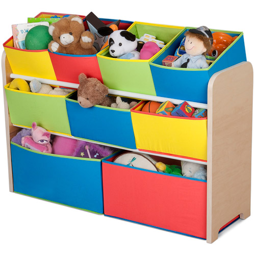 Delta Multi-Color Deluxe Toy Organizer with Bins by Generic