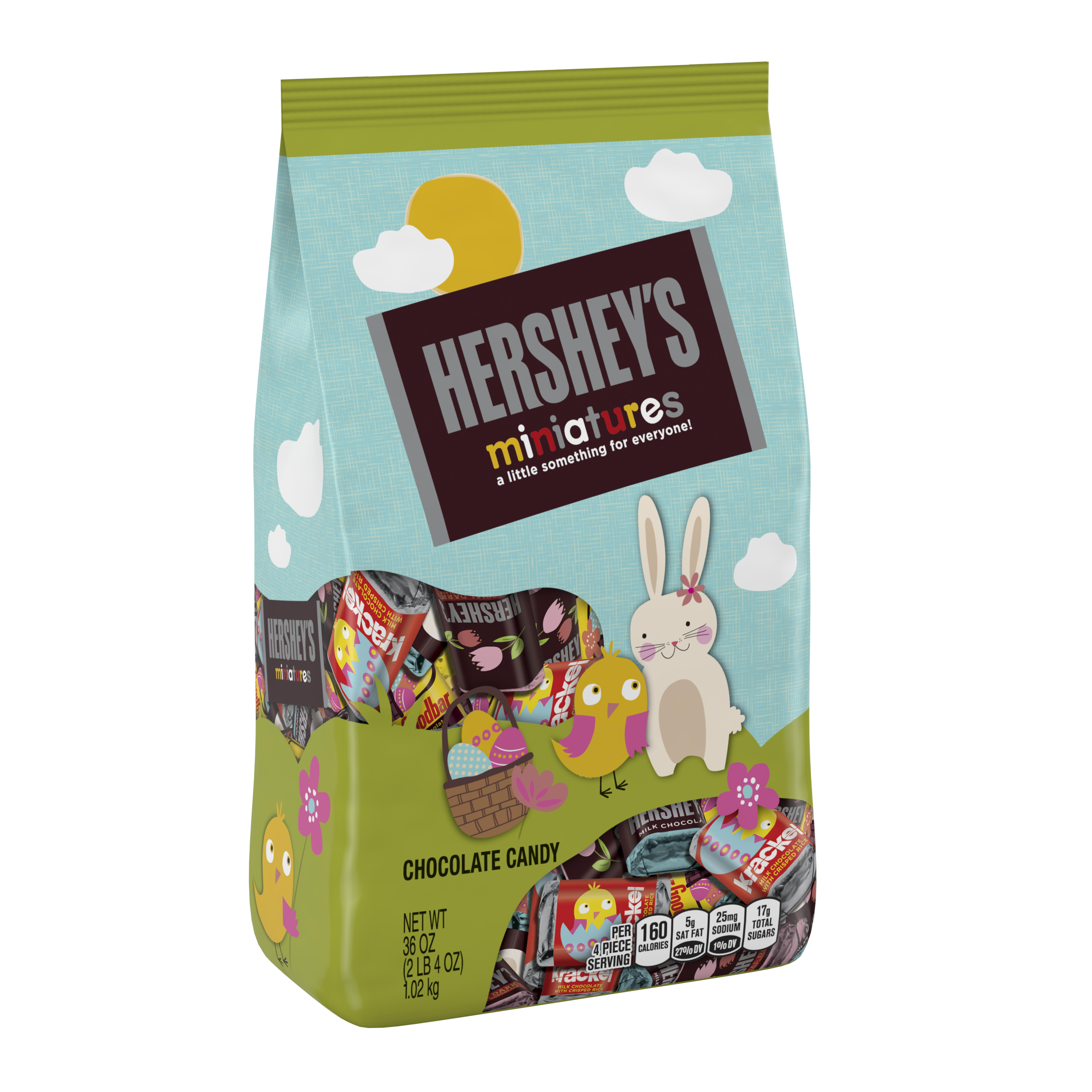 Hershey's, Easter Miniatures Assortment Candy, 36 Oz