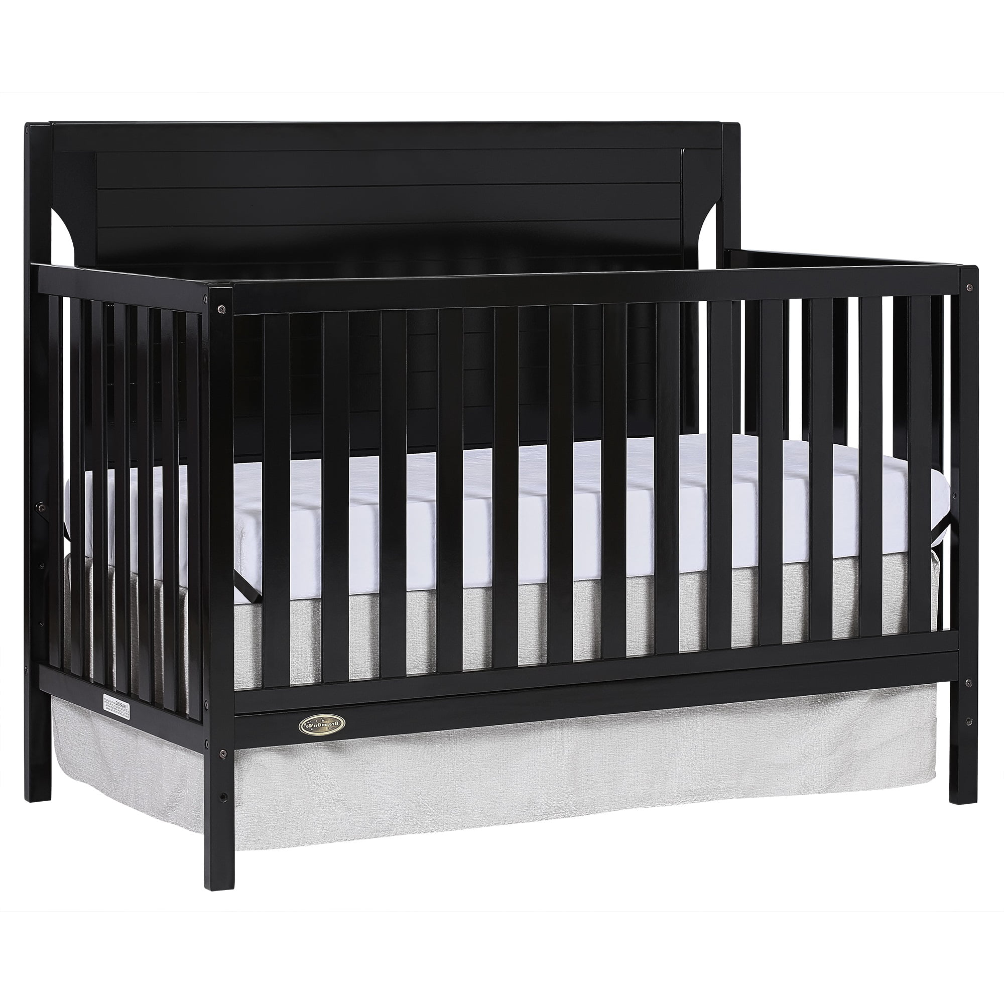 Slumber Baby Cape Cod 5 In 1 Convertible Crib Black