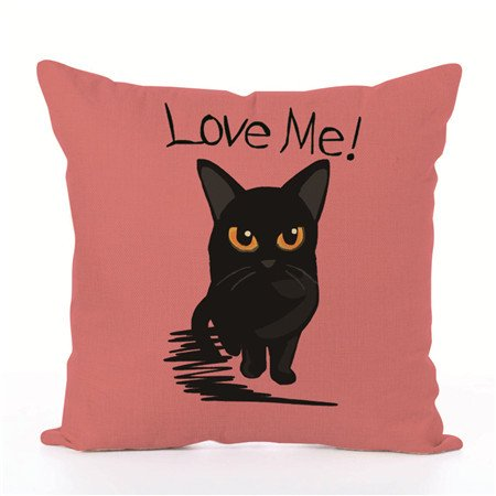 Throw Pillows Case, Justdolife Cute Cat Cushion Cover Bed Sofa Square Throw Pillow Case Home Office Decor Decorative for Couch Bedding 18'*18'](Office Decorate)
