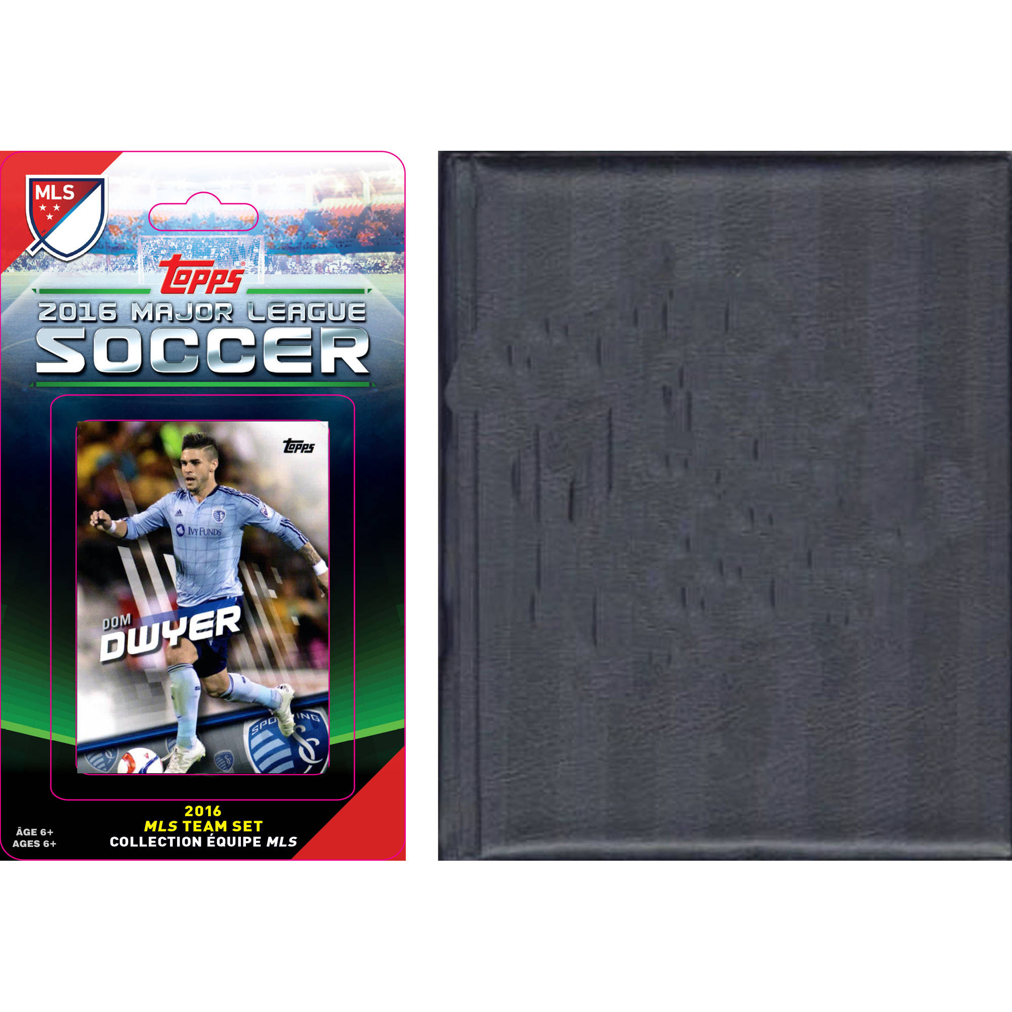C&I Collectables MLS Sporting Kansas City Licensed 2016 Topps Team Set and Storage Album