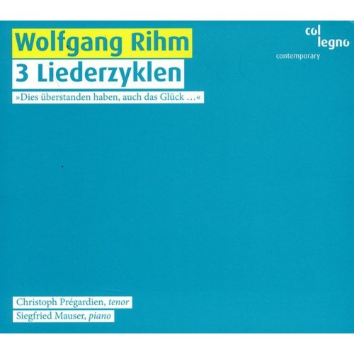 Three Lieder Cycles (Dig)