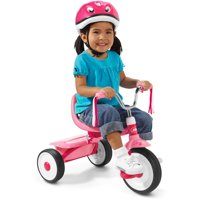 Radio Flyer, Ready to Ride Folding Trike, Fully Assembled, Red or Pink