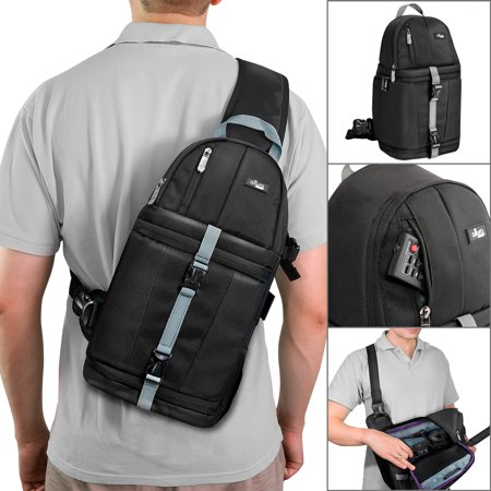 - Altura Photo Camera Sling Backpack for DSLR and Mirrorless Cameras (Canon Nikon Sony Pentax)