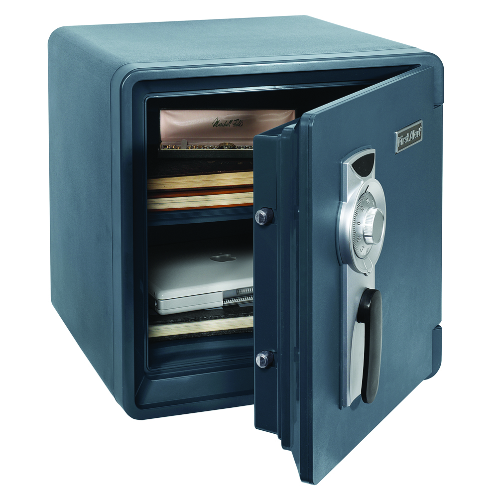 First Alert 2087F Waterproof and Fire-Resistant Combination Safe, 0.94 Cubic Feet by First Alert
