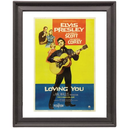 Loving You - Elvis Presley - Picture Frame 8x10 inches - Poster ...