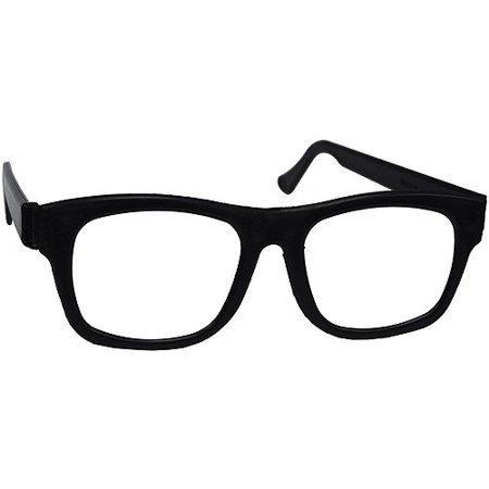 Nerd Glasses Adult Halloween Accessory - Nerd Costume For Men