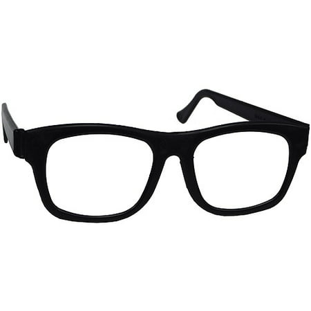 Nerd Glasses Adult Halloween Accessory](Nerd Kid Halloween Costumes)