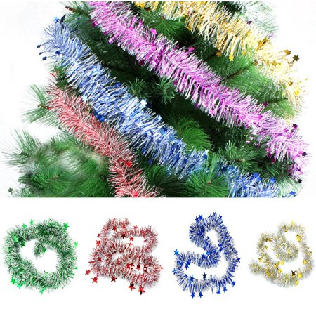 Colorful Garland Bar Christmas Tree Decoration Xmas Party Hanging Ornaments - Walmart.com