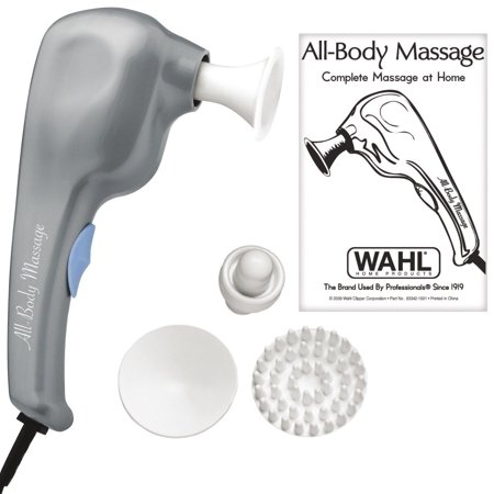 Wahl Handheld All Body Therapeutic Massager with Multiple Attachments Included