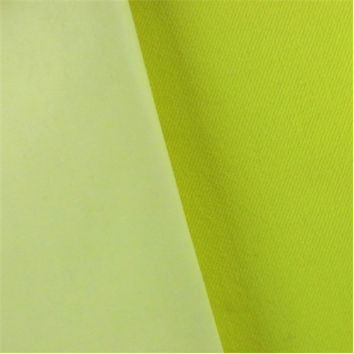 Neon Yellow Weather Resistant Outerwear, Fabric By the Yard