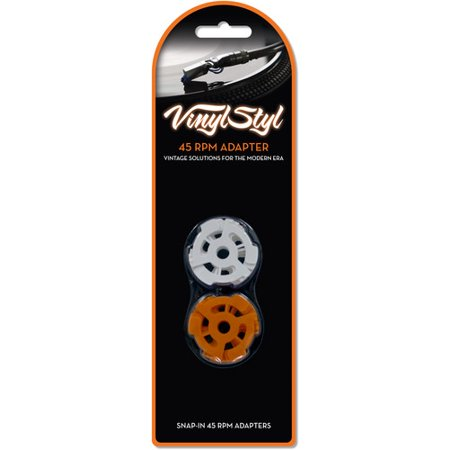 Hill 45 Rpm Records - Vinyl Styl™ 45 RPM Adapter 10 Pack (Accessories)