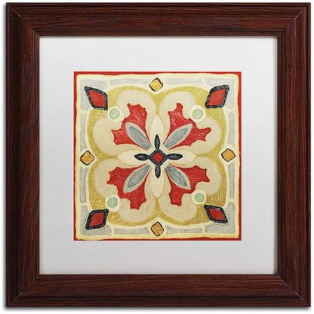 Personalized Framed Tile - Trademark Fine Art