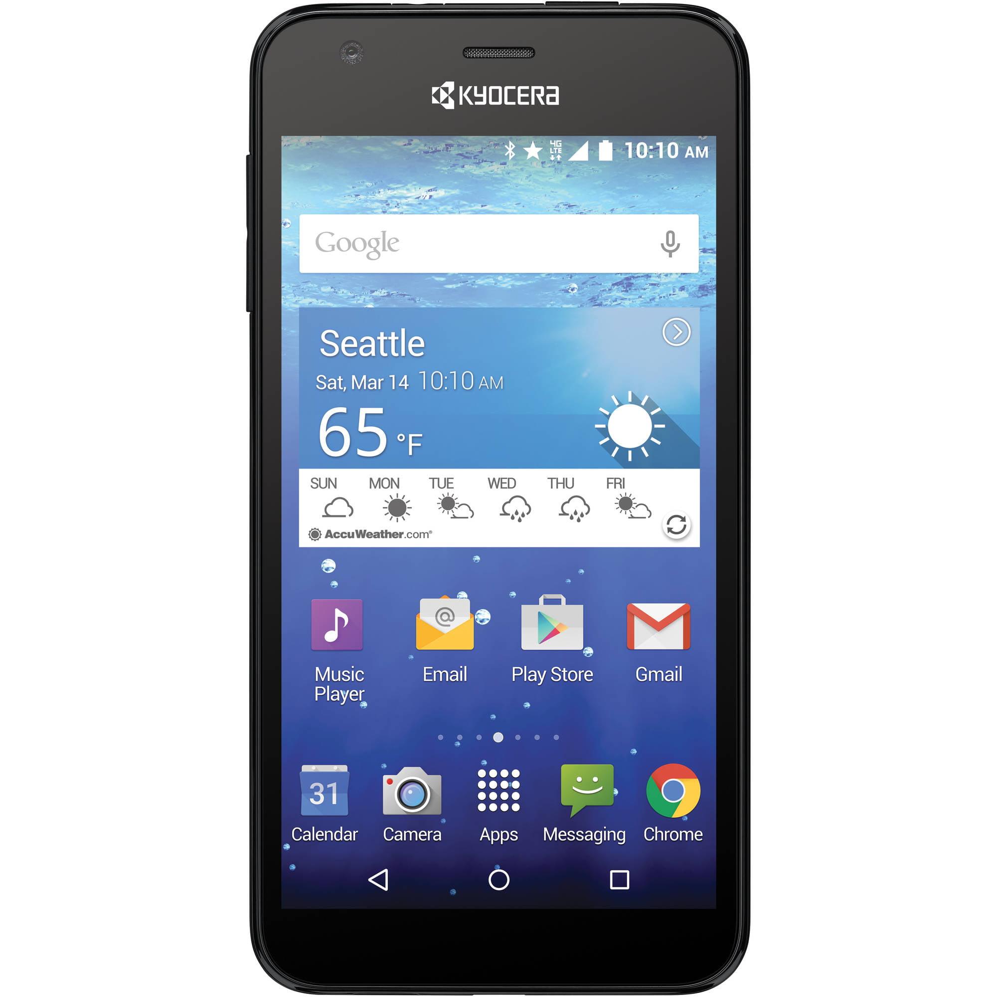T-Mobile Kyocera Hydro Wave Prepaid Smartphone