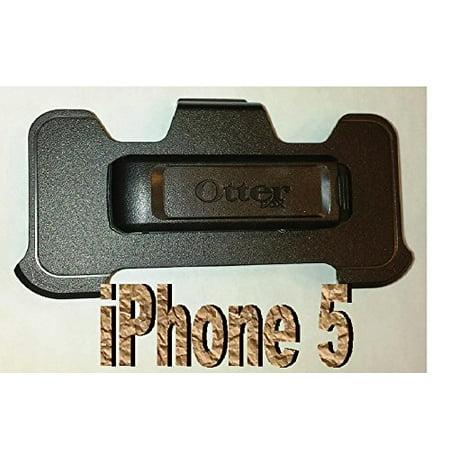 Otterbox Defender Case Replacement Black Belt Clip Holster for Apple Iphone 5 5s - Black - Bulk Packaging