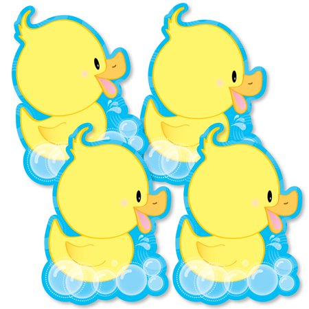Ducky Duck - Decorations DIY Baby Shower or Birthday Party Essentials - Set of 20 (Rubber Ducky Decorations For Baby Shower)
