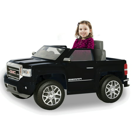 Rollplay GMC Sierra Denali 6 Volt Battery Ride-On Vehicle, Black