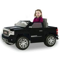 Rollplay GMC Sierra Denali 6 Volt Battery Ride-On Vehicle, Black