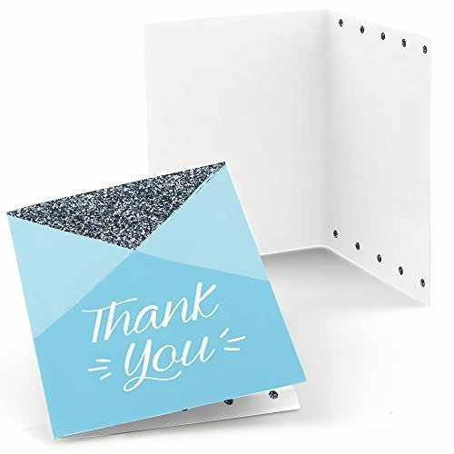 1st Birthday Boy - Fun to be One - First Birthday Party Thank You Cards (8 count)