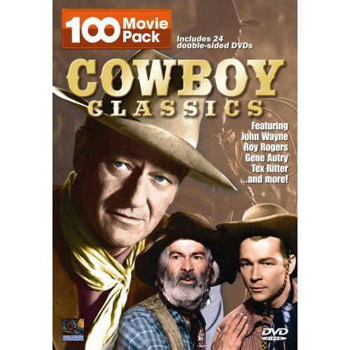 Cowboy Classics: 100 Movie Pack