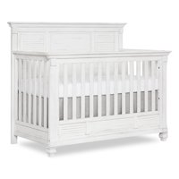 Evolur Signature Cape May 5-in-1 Full Panel Convertible Crib, Weathered White