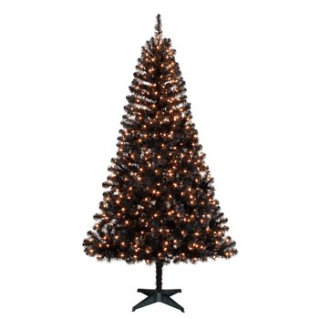 Holiday Time Pre-Lit 6.5' Madison Pine Artificial Christmas Tree
