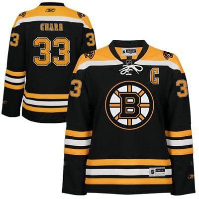20 Premier Throwback Jersey - Youth Zdeno Chara Boston Bruins NHL Reebok Black Home Premier Jersey