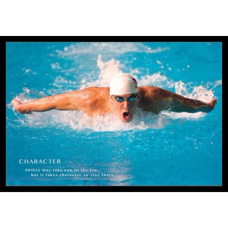 Michael Phelps Quote Poster Poster Print