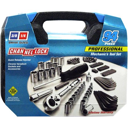 94 Piece Mechanic's Tool Wrench Set