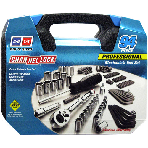 Channellock 94 Piece Mechanics Tool Set