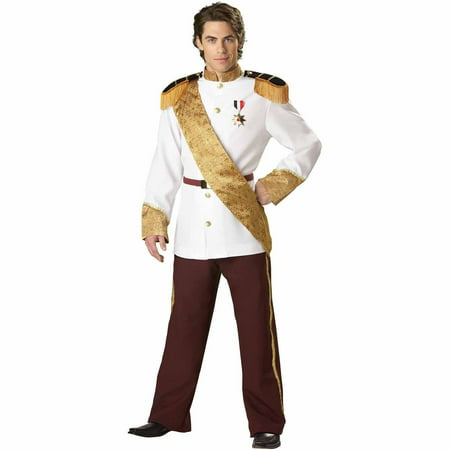 Prince Charming Elite Collection Adult Halloween Costume](Cinderella And Prince Charming Costumes)