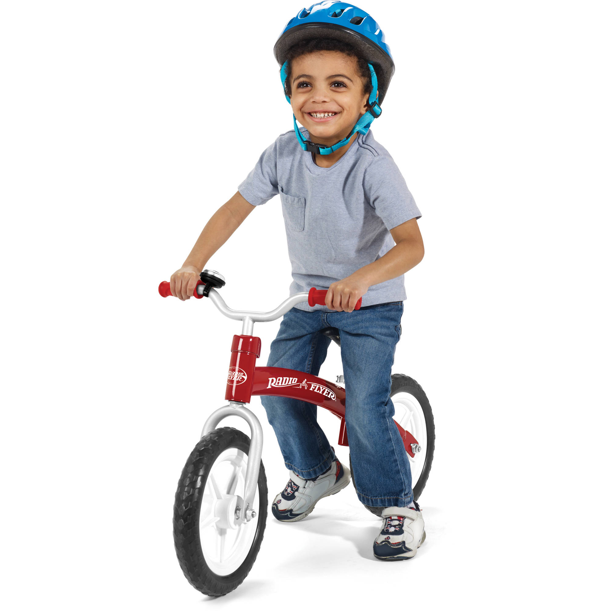 Radio Flyer Glide & Go Balance Bike, Red