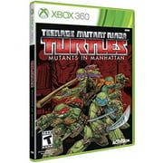 TMNT Mutants in Manhattan, Activision, Xbox 360, 047875771390