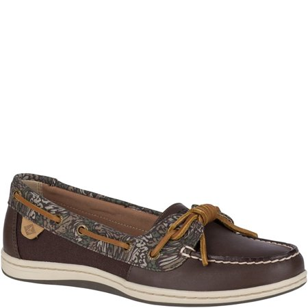 ab9a48438b1d Sperry - Barrelfish Animal Print Boat Shoe - Walmart.com